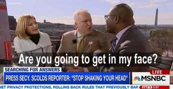 MSNBC panelists go at it on racism - You don't get to tell other people what racism is 2