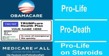 OK 'pro-lifers', since ACA repeal will kill tens of thousands can we count on you?