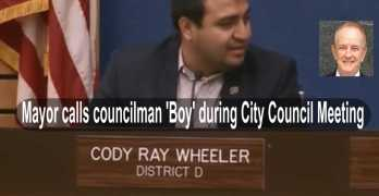 SHOCKING: Latino City Councilman reacts to Mayor calling him 'boy' (VIDEO)