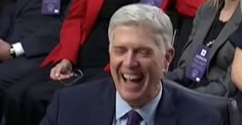Supreme Court Nominee taken by surprised by Senator Sasse's wife question (VIDEO)