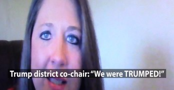 A Trump district co-chair just called me: 'I am off the train. We were trumped.' (VIDEO)