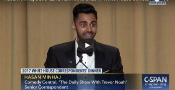 Comedy Central's Hasan Minhaj slams it at White House Correspondents' Dinner (VIDEO)