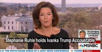 MSNBC Stephanie Ruhle holds Ivanka Trump accountable on women issues (VIDEO)