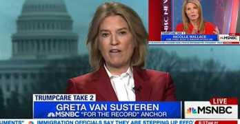 New MSNBC Host Greta Van Susteren continues Fox News Trump apologist role (VIDEO)