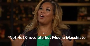 Tara Setmayer scolded Bill Maher: She's not chocolate but Mocha Macchiato (VIDEO)