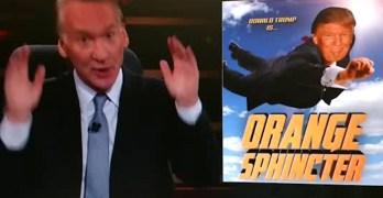 Bill Maher: Americans must be their own superhero against Orange Sphincter (VIDEO)
