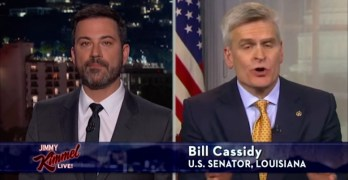 Republican Senator Bill Cassidy policy prescription is Medicare for all (VIDEO)