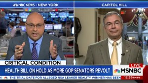 Ali Velshi destroys lying GOP Congressman as he schools him on healthcare (VIDEO)