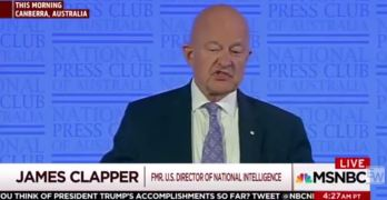 James Clapper: Watergate pales compared to Russia investigation (VIDEO)
