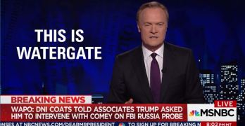 This is Watergate - Lawrence O'Donnell on new Trump revelations