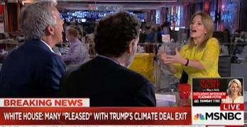 MSNBC Host knocks out Rep. Joe Walsh defense of Trump Paris agreement fiasco (VIDEO)