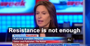 Panelist implores Progressives: Resistance not good enough, Let Russia play itself out (VIDEO)