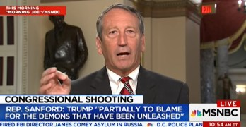 Republican Congressman - President partially to blame for demons that have been unleashed