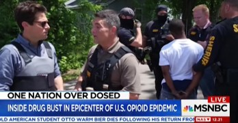This MSNBC Report on opioid epidemic arrests is subliminally racist (VIDEO)