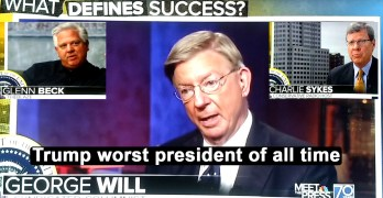 Conservative on Trump: He is so bad he is in the running for the worst president of all time (VIDEO)