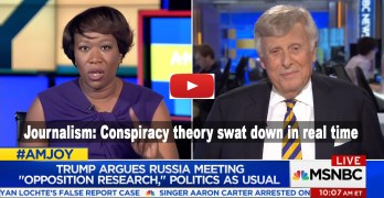 Journalism: Joy Ann Reid fact checks Trump apologist peddling lies in real time (VIDEO)