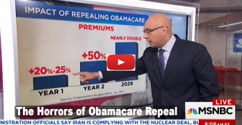 MSNBC Ali Velshi describes the horror of repealing without replacing ACA (VIDEO)