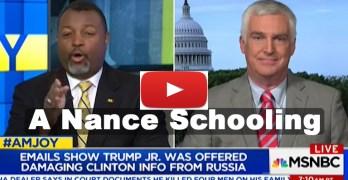 Malcolm Nance destroys Trump Russia Scandal defending ex-CIA agent