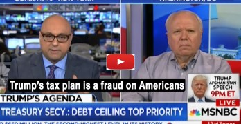 Former Bush official, Republican, exposes Trump tax cut plan as a fraud (VIDEO)