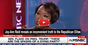 Joy-Ann Reid Trump is who the real Republuicans are and GOP elite ashamed