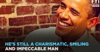 Obama no longer president but making headlines with style (VIDEO)