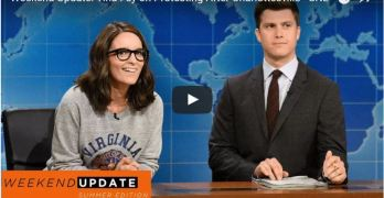 Tina Fey knocks it out of the park but don't miss the last message (VIDEO)