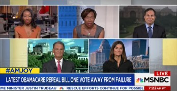 """Joy-Ann Reid checks Trumpcare spinner """"You can't disagree with math"""" (VIDEO)"""