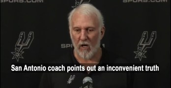 San Antonio Spurs Coach Gregg Popovich prescient speech to White people (VIDEO)