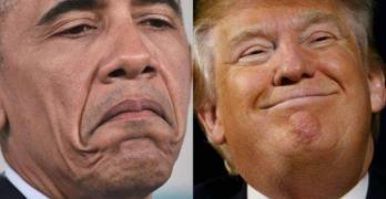 Trump Obama Evangelicals