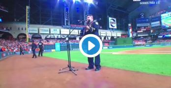 The worse rendition of God Bless America occured at the World Series in Houston (VIDEO).