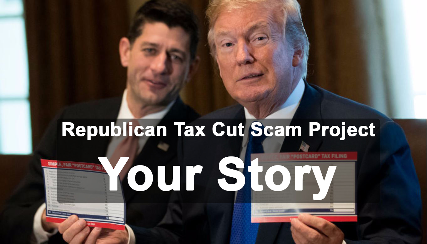 GOP Tax Cut Scam: Don't you think these two kids deserve a break?