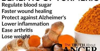 The benefits of turmeric curcumin are many