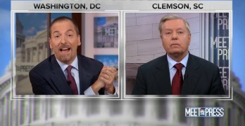 Chuck Todd exposes Sen. Lindsey Graham's hypocrisy with his past attack on Trump (VIDEO)