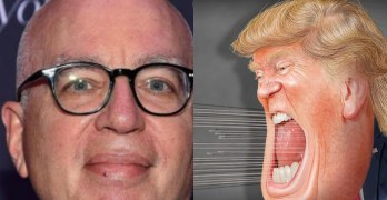 Michael Wolff and Donald Trump