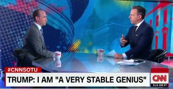 CNN's Jake Tapper kicks Trump's spokesman off of his show (VIDEO)