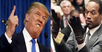 Donald Trump - O.J. Simpson
