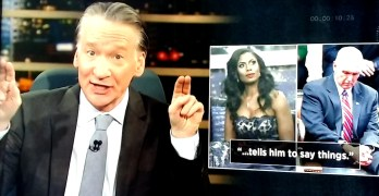 Bill Maher uses Evangelical & GOP's hypocrisy to lead Democrats into finding a spine