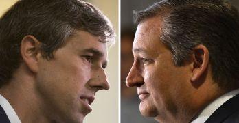 Beto O'Rourke (D-TX) in virtual tie with Ted Cruz (R-TX) for Texas Senator