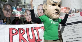 Focus on Pruitt Scandals Obscures Environmental Degradation Under Trump