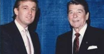 Donald Trump, Ronald Reagan Cowardice