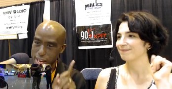 Act.TV's Julianna Forlano talks immigration with Politics Done Right at #NN18 (VIDEO)