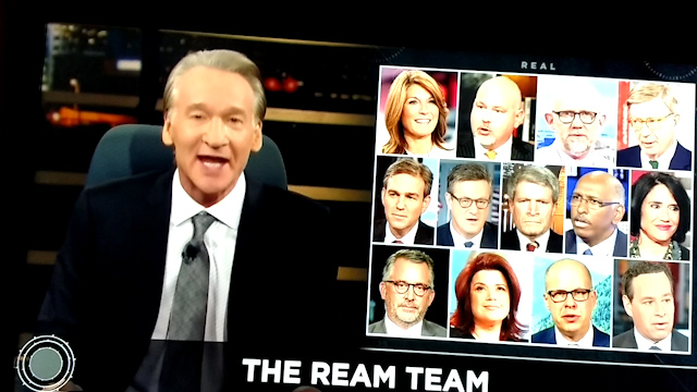 Bill Maher slams Democrats. Gives them slogan 'We are not socialists, you are traitors'