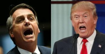 Brazil Jair Bolsonaro - USA Donald Trump