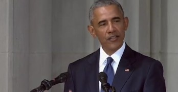 President Barack Obama eulogy at Senator John McCain's memorial service