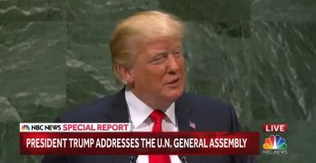 Watch Trump laughed at for huge lie about his success during UN speech (VIDEO)