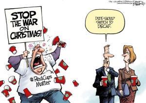 Trump Declares War on Christmas