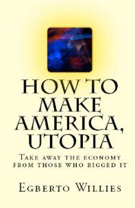 How to make America, Utopia [Book Cover 01]