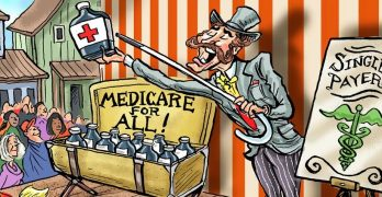 Corporate Media Are Here to Warn You: Medicare for All Is a Very Bad Idea