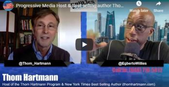 Thom Hartmann - Healthcare Industry owns Republican Party & half the Democrats