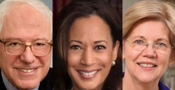 Progressives coalescing on three candidates - Sanders, Warren, and Harris according to DFA's latest polls.